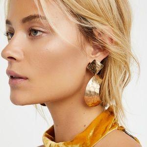 Free People After Dark Golden Earrings